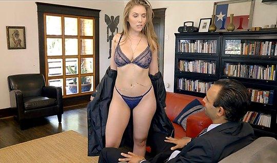 Брюнетка пришла в гости к мужику и дала себя отыметь в разных позах