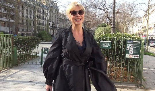 Зрелая блондинка согласилась на пикап и получила глубокий анал