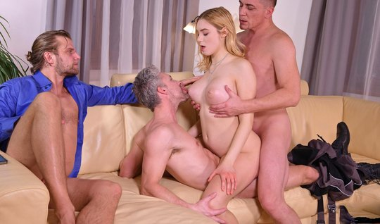 The girl before the wedding decided to substitute holes for anal and double penetration