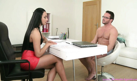 Stout fella in the glasses is casting for erotic Studio