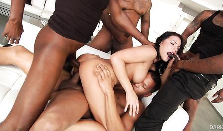 Negros with huge members pull sweet holes kinky coeds